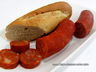 Traditional Spanish Sausage Details 4