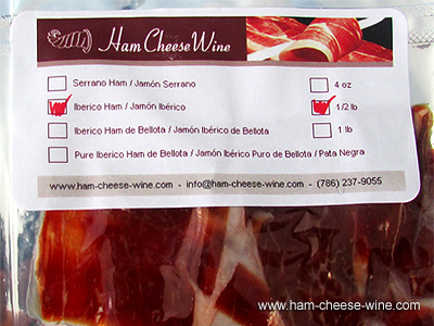 Iberico Ham Hand Cut By Knife, 1 Pound Details 5