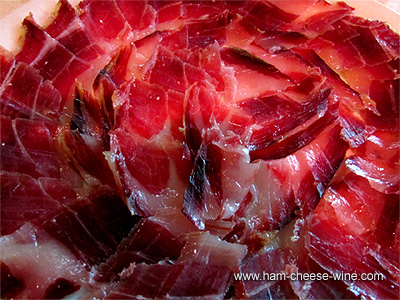 Pure Iberico Ham de Bellota Hand Cut By Knife, 1 Pound Details 1