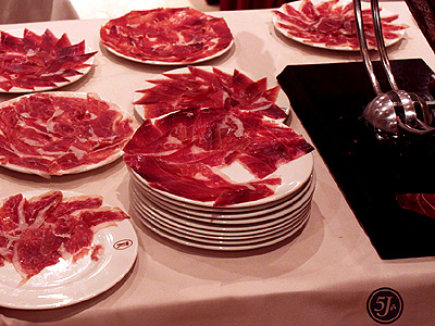 Pure Iberico Ham de Bellota Cinco Jotas 5J Special Edition Carving Table 2