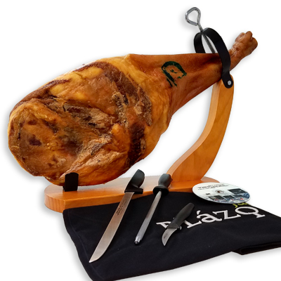 Economic Ham Carving Kit - Iberico Shoulder Blázquez Details 2