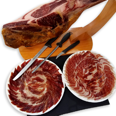 Economic Ham Carving Kit - Iberico Shoulder Blázquez Details 5