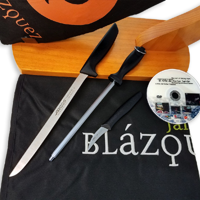 Economic Ham Carving Kit - Iberico Shoulder Blázquez Details 8