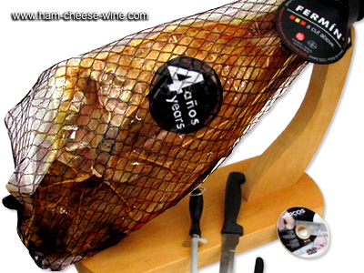 Pure Iberico Bellota Ham Fermín - Economic Ham Carving Kit Details 2