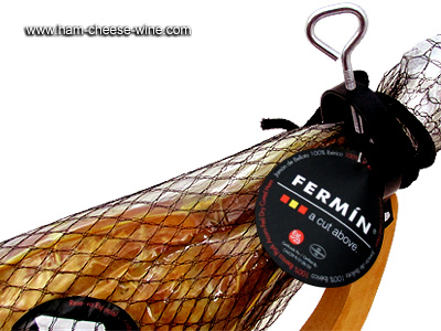 Pure Iberico Bellota Ham Fermín - Economic Ham Carving Kit Details 6
