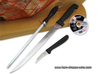 Serrano Ham Monte Nevado Economic Carving Kit Details 3