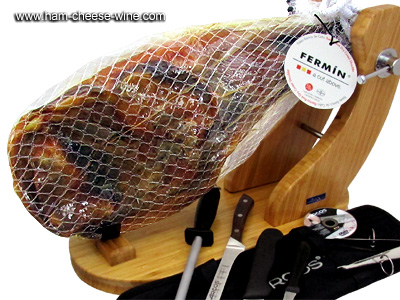 Iberico Shoulder Fermín Professional Ham Carving Kit Details 2