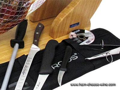 Iberico Shoulder Fermín Professional Ham Carving Kit Details 3
