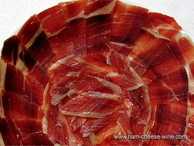 Serrano Ham Hand Cut by Knife, 2 Pounds