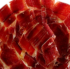 Iberico Ham de Bellota Hand Cut by Knife, 1 Pound