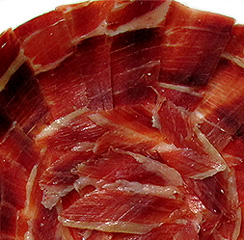 Serrano Ham Hand Cut by Knife, 1 Pound