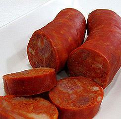 Traditional Spanish Sausage